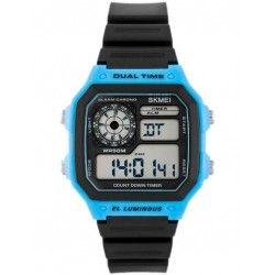 ZEGAREK MĘSKI SKMEI 1299 Dual Time - (zs033b)