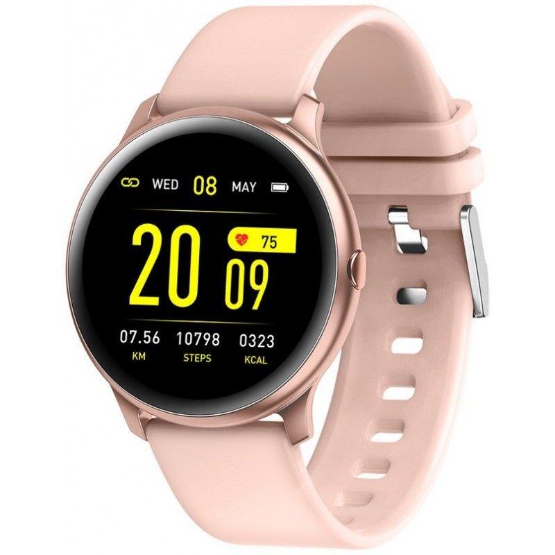 Zegarek damski smartwatch Rubicon RNCE40 różowy