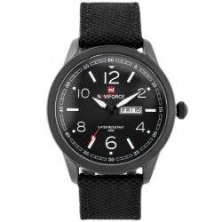 Zegarek Naviforce NF9101 czarny wojskowy styl