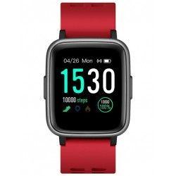SMARTWATCH Jordan Kerr Active - red (zj990c) Dotykowy ekran IPS