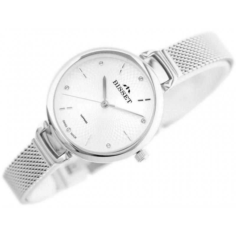 Zegarek damski Bisset BSBF22 szafirowe szkło