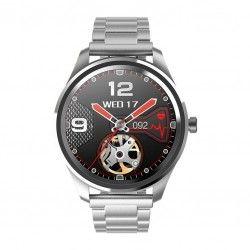 SMARTWATCH G. Rossi SW012-2 silver/black + dodatkowa BRANSOLETA (zg315b)