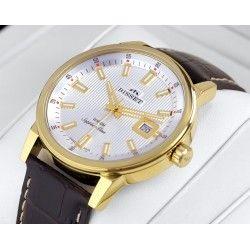 Zegarek męski Bisset BSCE62 szafirowe szkło