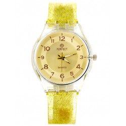 ZEGAREK DAMSKI PERFECT A931 - yellow (zp814b)